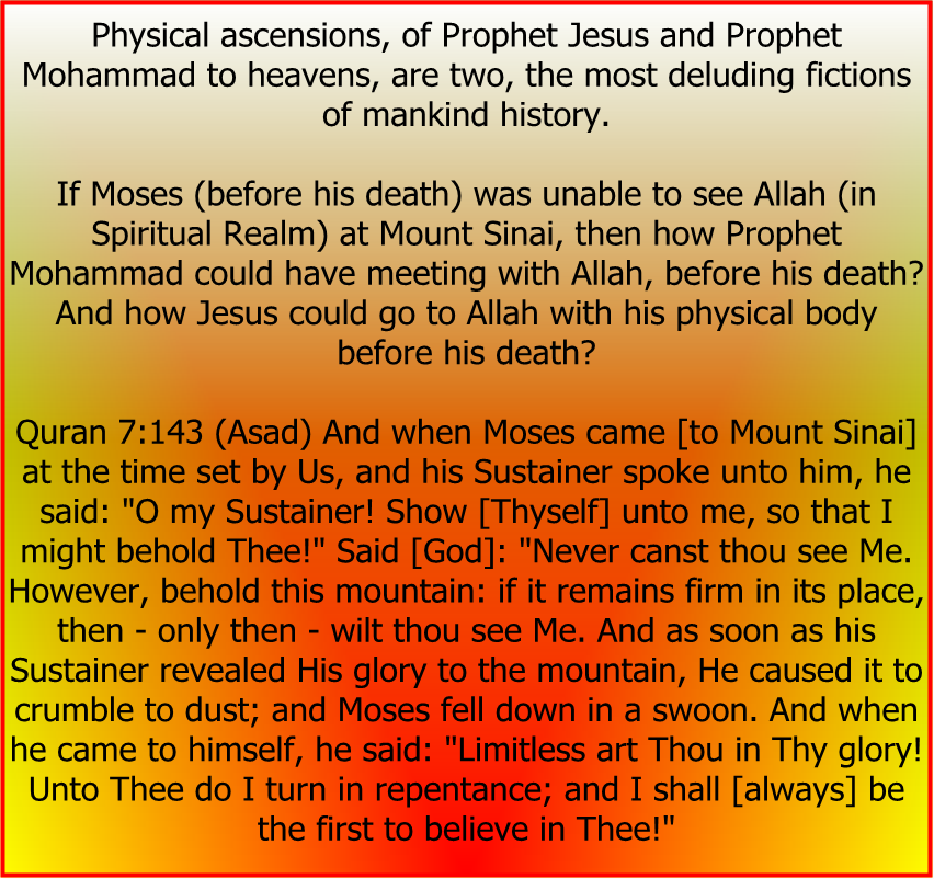 jesus and the quran First, the miraculous nature of mary's conception of jesus is confirmed in only two books — matthew and luke second, there are passages in the new testament that contradict the virginal conception.