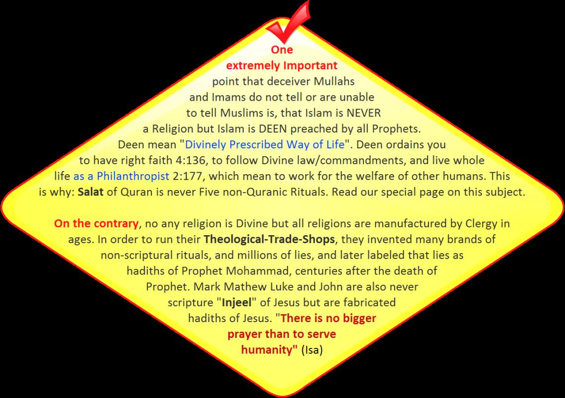 IslamisDeenNotReligion