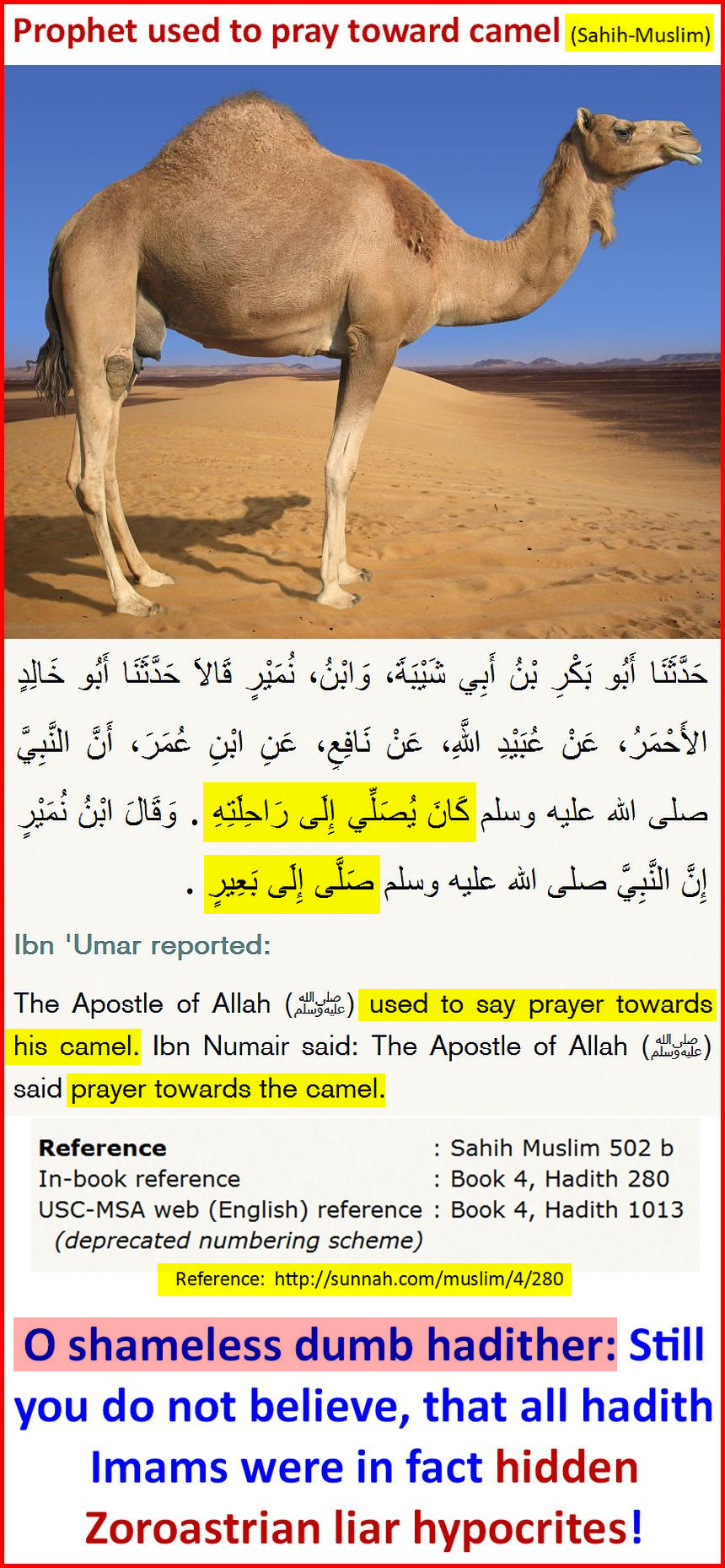 PrayingTowardCamel