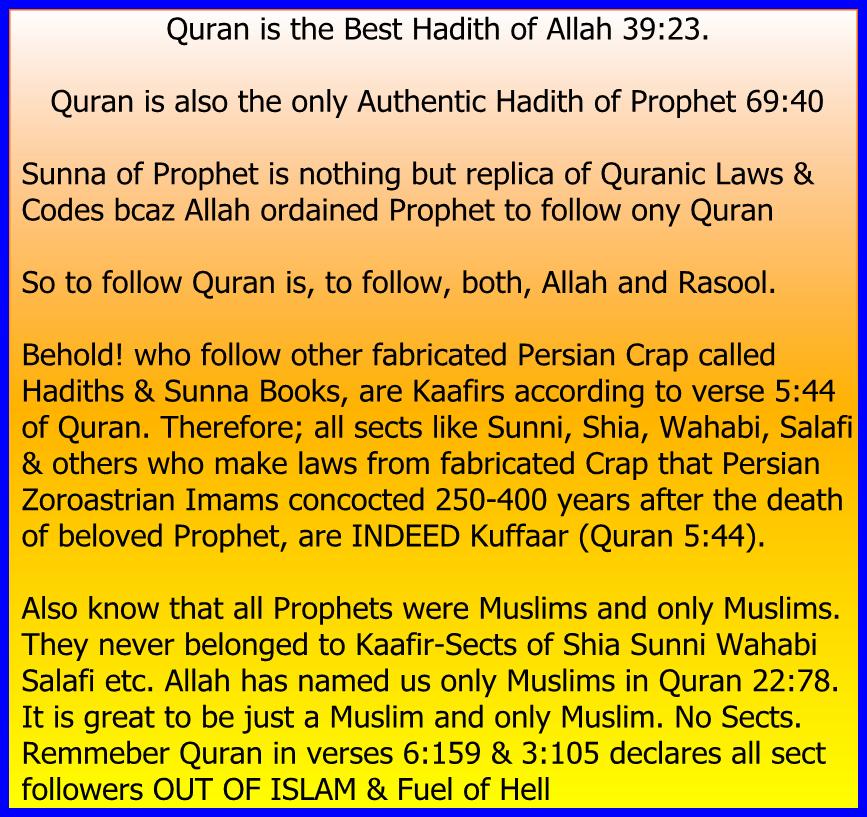 QuranTheBestHadith