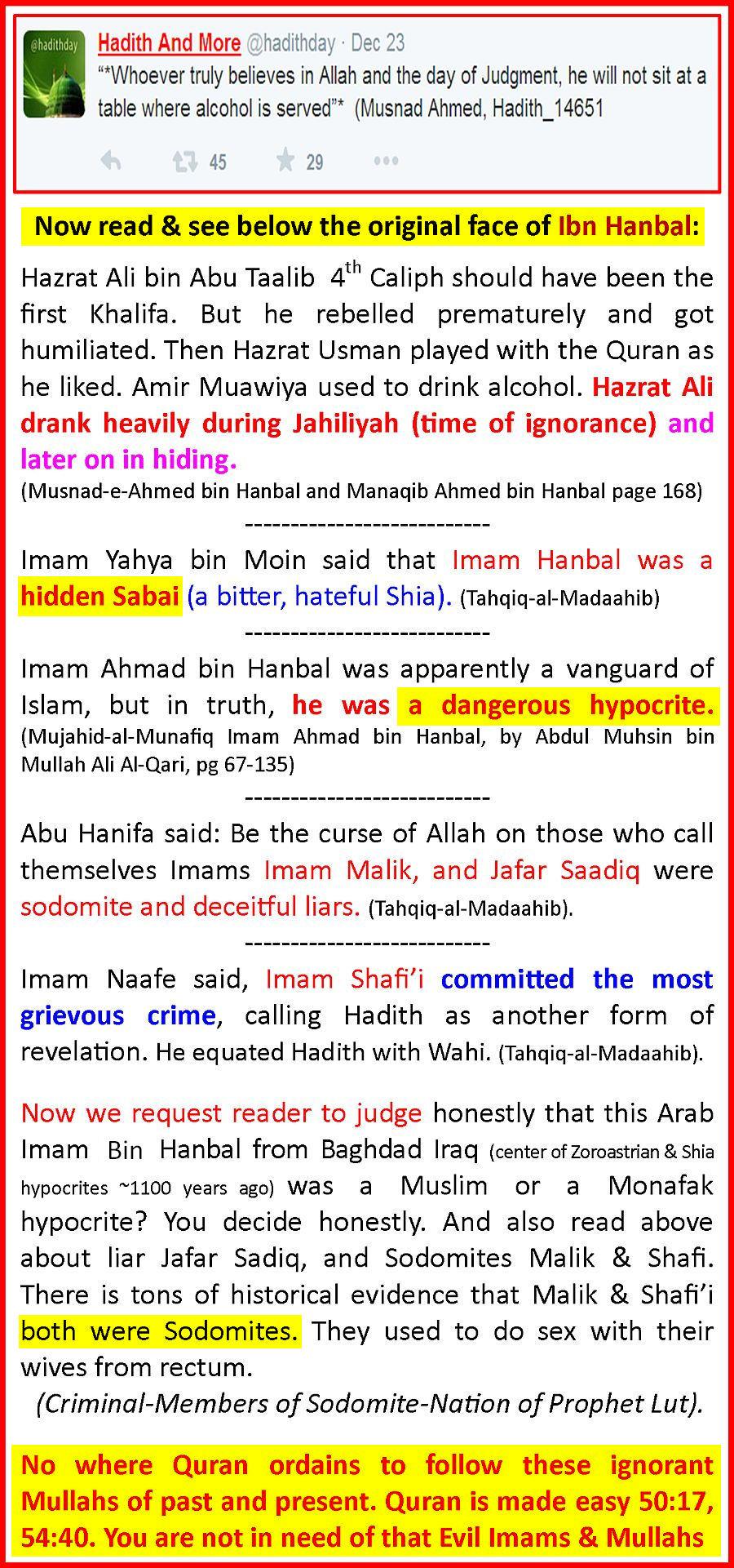 IbnHanbalAnHypocrite