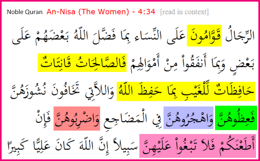 Quran_4_34ArabicOnly