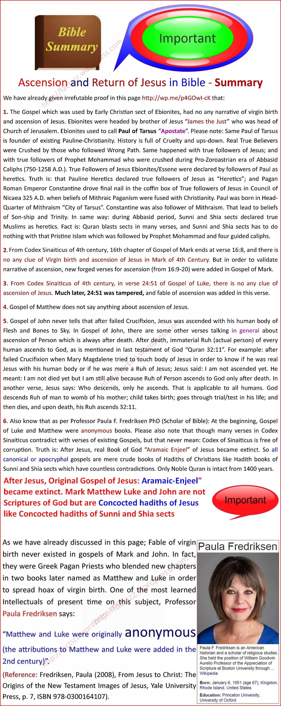 How Paul deceived True Followers of Prophet Isa Jesus? | Factszz
